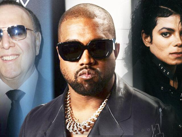 Kanye West responsabiliza a esposo de Thalía por muerte de Michael Jackson