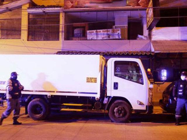 Tras intensa búsqueda recuperan camión robado a empresa del 'Ángel del oxígeno'