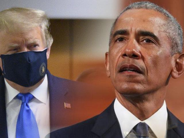 Barack Obama advierte que acciones de Trump amenazan la democracia estadounidense