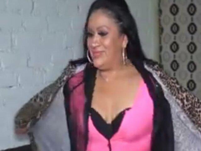 Paloma de la Guaracha se olvidó de su cambio de look y retomó sus picantes shows