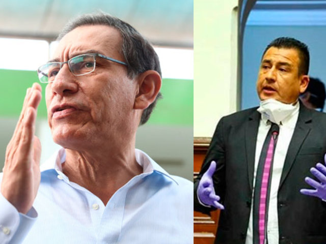 Congresista Jhosept Pérez pidió disculpas al presidente por insultos durante sesión del Pleno
