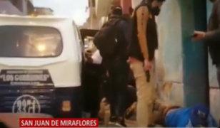 SJM: PNP detiene a banda criminal que intentaron asaltar a empresario avícola