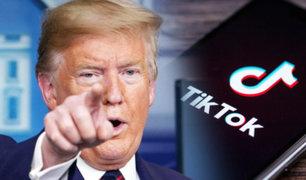 Trump anuncia que prohibirá TikTok en EEUU por motivos de seguridad nacional