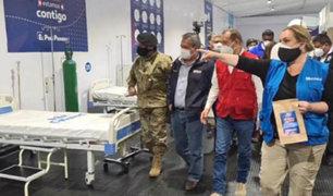 Moquegua: EsSalud puso en funcionamiento centro de atención para pacientes Covid-19