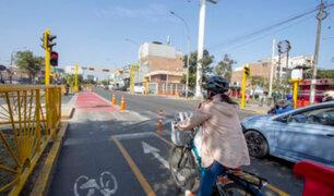 La Victoria: ciclovía de Av. Canadá busca garantizar orden y seguridad
