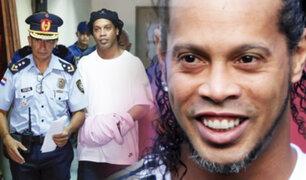 Ronaldinho podría salir libre en agosto
