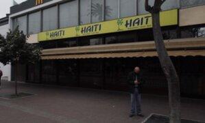 Miraflores: Restaurante Haití niega cierre definitivo