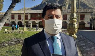 Huancavelica: Gobernador Regional Maciste Díaz da positivo a Covid-19