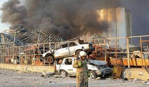Impactantes imágenes: decenas de muertos y heridos deja  explosión en el Líbano