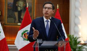 COVID-19: Martín Vizcarra anunció  nuevas medidas ante rebrote