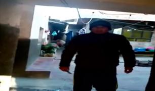 Huancayo: mujer graba preciso instante en que su expareja intenta acuchillarla