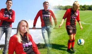Revolución en el fútbol: Holanda incluirá a una mujer en un equipo varonil