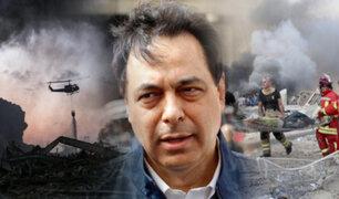"""Primer ministro del Líbano afirma que el país está ante una """"crisis nacional"""""""