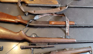 Santa Anita: hallan arsenal clandestino de armas en segundo piso de vivienda