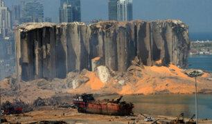 Explosión de Beirut provoca daños entre 3.000 y 5.000 millones de dólares