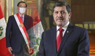 Jorge Luis Chávez Cresta jura como ministro de Defensa