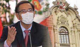 """Martín Vizcarra: """"En los próximos días se llevará a cabo la primera reunión del Pacto Perú"""""""