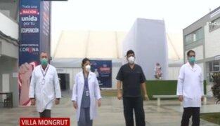 Villa Mongrut: Conoce el esforzado y valiente trabajo de los médicos intensivistas