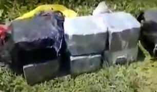 San Martín: agentes incautan droga y descubren pista de aterrizaje clandestina