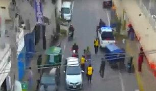 El Agustino: extranjeros atacan a fiscalizadores en operativo contra mototaxis