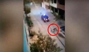 Comas: delincuentes sorprenden a taxista y se llevan su vehículo