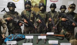 Fuerzas del orden se enfrentan a presuntos terroristas  en el Vraem