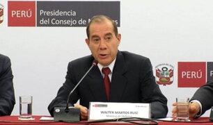 Martos: Gobierno presentará nueva propuesta referida a la devolución de aportes de la ONP