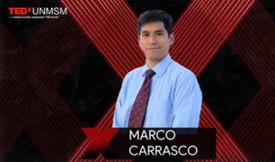Marco Carrasco: Evento TED permitirá explicar la nueva realidad a nivel mundial post pandemia