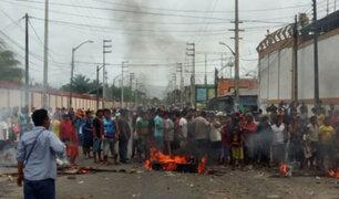 Loreto: enfrentamiento entre policías y nativos deja tres muertos y quince heridos