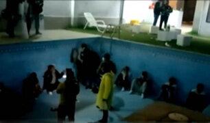 Lurín: intervienen a 30 personas que participaban en una fiesta electrónica