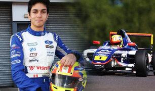 Automovilismo: peruano Matías Zagazeta se mantiene firme en la F4 Británica
