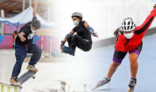 El Skateboarding y patinaje ya entrenan en la Costa Verde