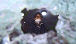 El Agustino: dueño de funeraria atacada a balazos sospecha de otros comerciantes de la zona