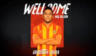 Christian Cueva es el nuevo fichaje del Yeni Malatyaspor de Turquía