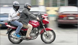 Villa El Salvador: ola de robos en moto mantiene en zozobra a los vecinos