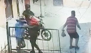San Juan de Lurigancho: hombre se enfrentó a delincuente armado que intentó asaltarlo