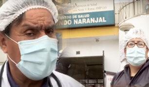 """""""Dr. Esperanza"""" del Naranjal: monitorea a sus pacientes contagiados por redes sociales"""
