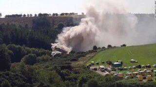 Escocia: 3 muertos y 6 heridos tras el descarrilamiento de un tren