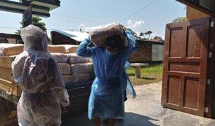 Qali Warma: entregan más de 70 toneladas de alimentos a comunidades indígenas de Loreto
