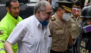 Ecuador: detienen al expresidente Abdalá Bucaram por presunta delincuencia organizada