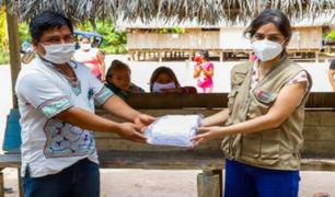Ucayali: Ministerio de Cultura entrega 2 000 mascarillas a comunidad indígena
