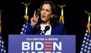Kamala Harris: primera candidata afroamericana a la vicepresidencia de EEUU hizo aparición oficial