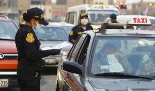 Policía impuso más de mil multas de tránsito durante feriados de Navidad y Año Nuevo