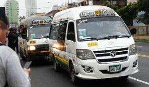 Jicamarca: cobrador golpeó a pasajero porque se negó a pagar 0.50 céntimos más de pasaje