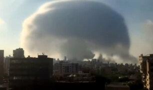 Agentes del FBI investigarán las causas de explosión en el puerto de Beirut