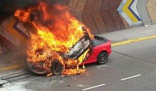 ¿Cómo evitar ser víctimas de un incendio vehicular?