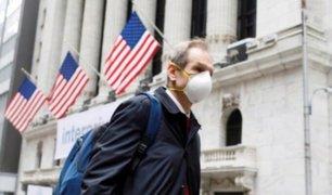 EE.UU: más de 1400 muertos por COVID-19 registró en un solo día