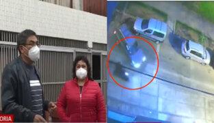 La Victoria: asalta a pareja de empresarios cuando llegaban a su departamento en Santa Catalina