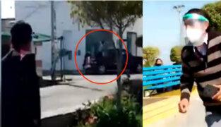 Pisco: Balacera durante asalto a Banco de la Nación