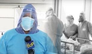 Villa Mongrut: esta es la incansable lucha para salvar a los pacientes de COVID-19